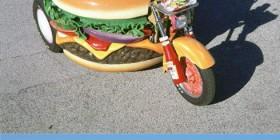 La moto hamburguesa