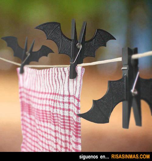 Las pinzas de ropa de Batman