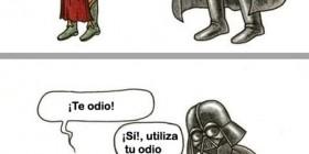 Pelea de pareja entre fans de Star Wars