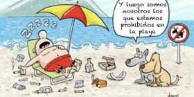 Prohibidos en la playa