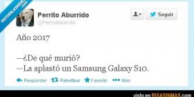 Lo malo de tener un Samsung Galaxy S10