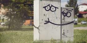 Street art divertido