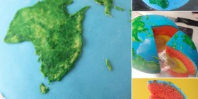 Tartas originales: Tierra