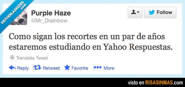 Estudiando en Yahoo Respuestas