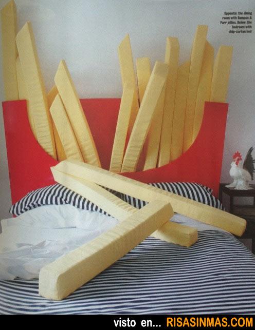 Cabecero original: Paquete de patatas fritas