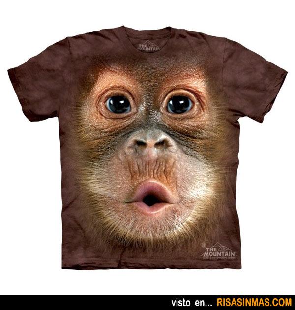 Camisetas originales: Bebé orangután