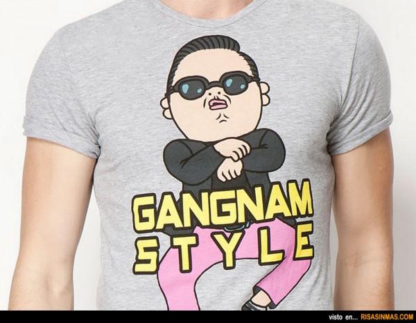 Camisetas originales: Gangnam Style