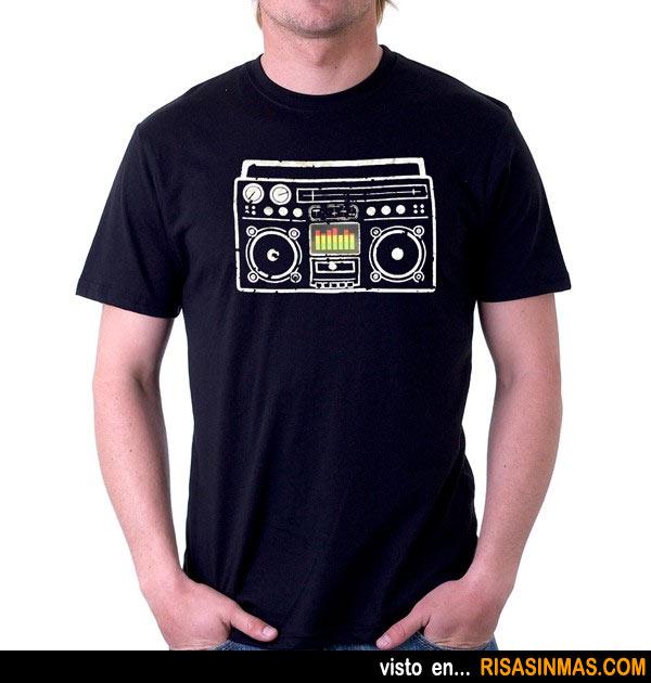 Camisetas originales: Altavoz con ecualizador gráfico