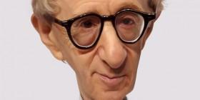 Caricatura de Woody Allen