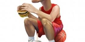 Caricatura de Yao Ming