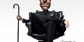 Caricatura del Dr. House