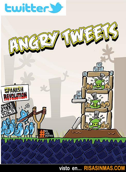 De los creadores de Angry Birds llega Angry Tweets