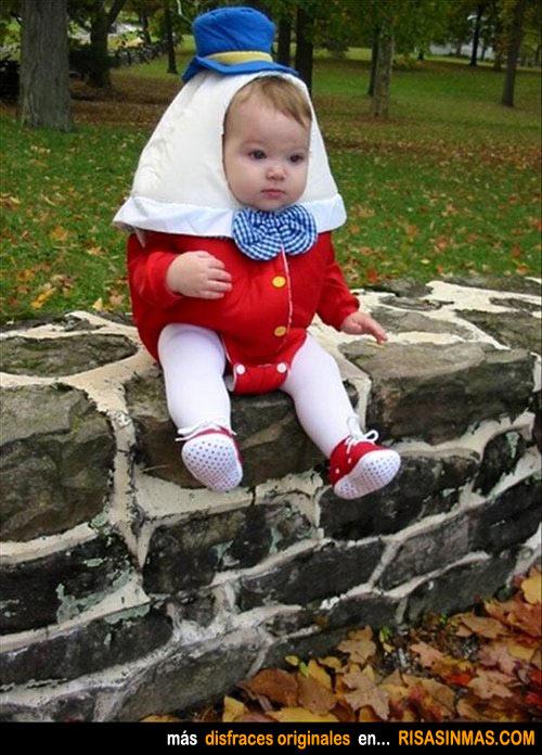 Disfraces originales: Humpty Dumpty