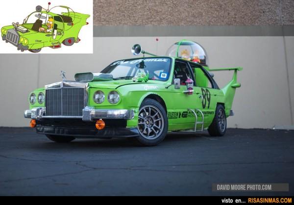 El coche de Homer Simpson en la vida real