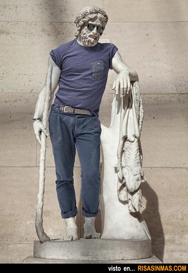 Estatua en los tiempos actuales
