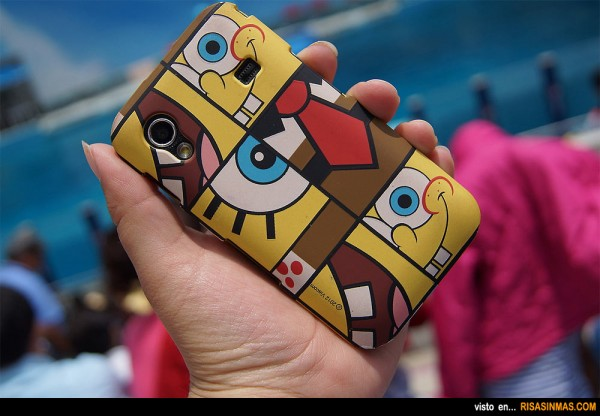 Funda de movil Bob Esponja