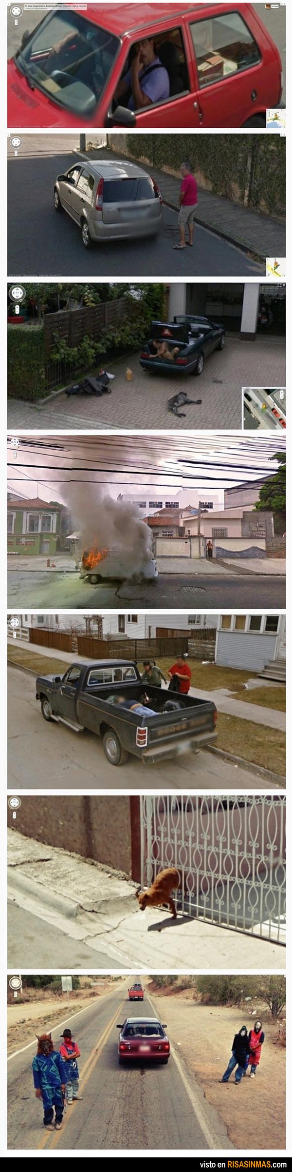 Google Street View, grandes éxitos