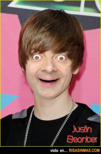 Justin Bieber + Mr. Bean