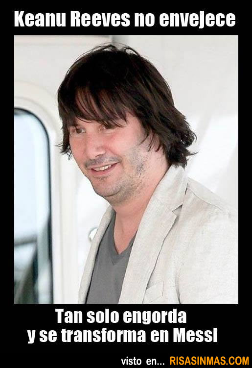 Keanu Reeves no envejece