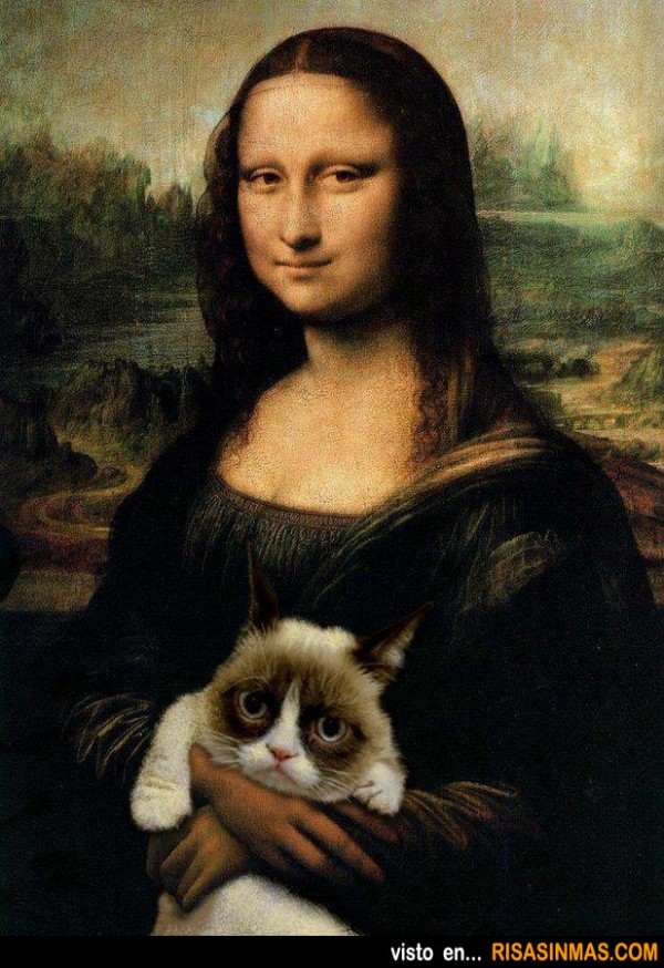 La Mona Lisa y Grumpy Cat