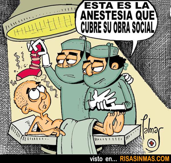 La anestesia más barata del mundo