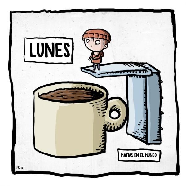 La taza de café de los lunes