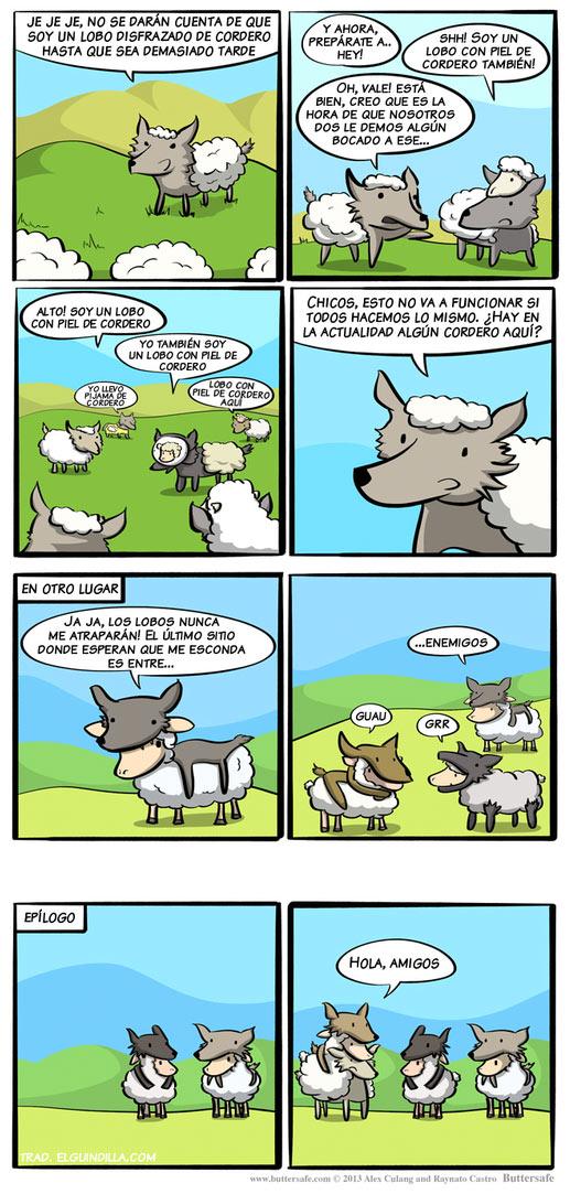 Lobos con piel de cordero y viceversa