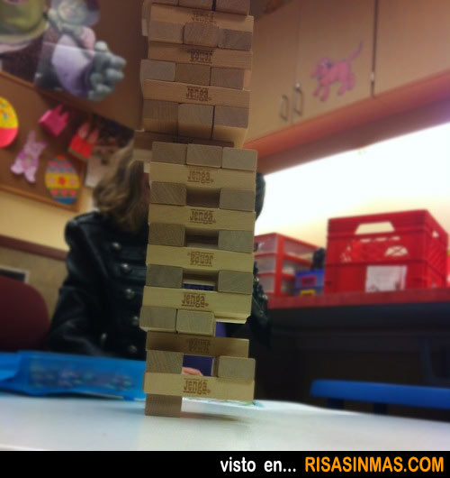 Movimiento Jenga nivel maestro
