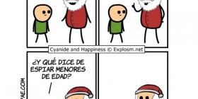 Papá Noel y los niños