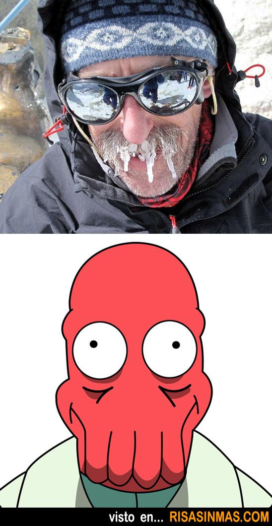 Parecidos razonables: Doctor John Zoidberg de Futurama