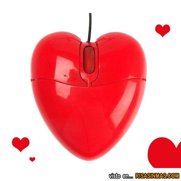 Ratón San Valentín
