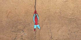Spiderman, héroe del street art
