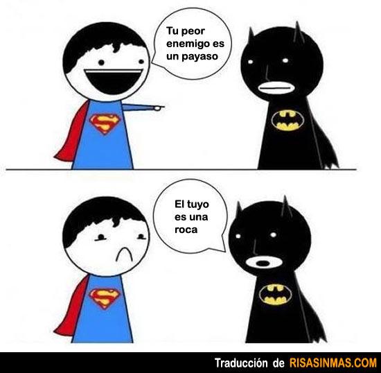 Superman y Batman y sus mayores enemigos