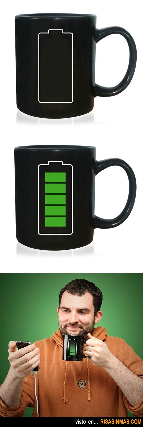 Tazas de café originales: Batería