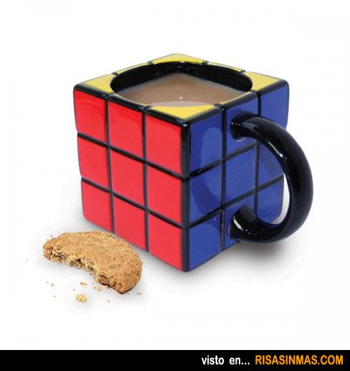 Tazas de café originales: Cubo de rubik