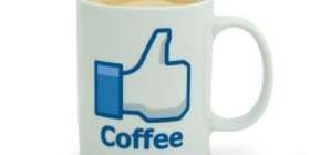 Tazas de café originales: Me gusta de Facebook