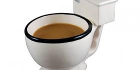 Tazas de café originales: Taza del váter