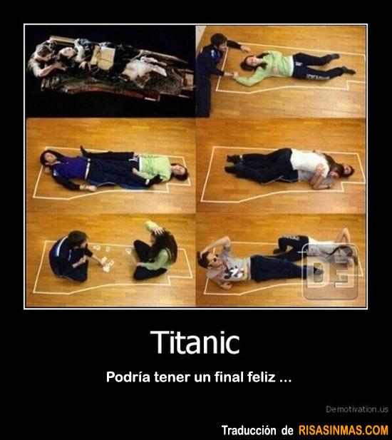 Titanic ¿Podría tener un final feliz?