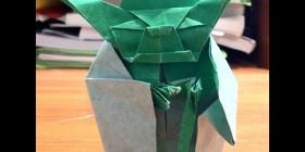 Yoda versión Origami