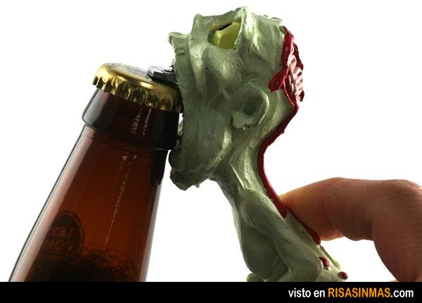 Abrebotellas zombie