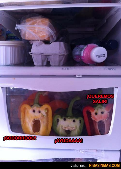 Abres el frigorífico y te encuentras...