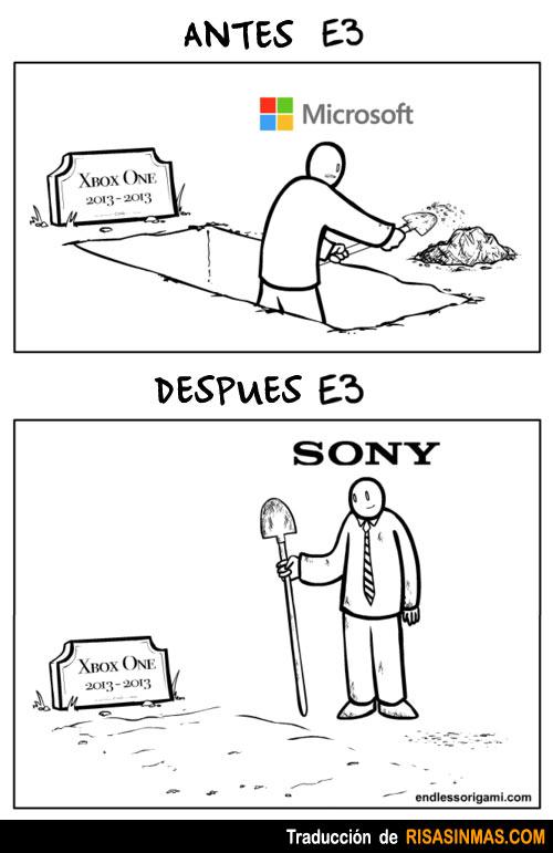 Xbox One antes y después del E3