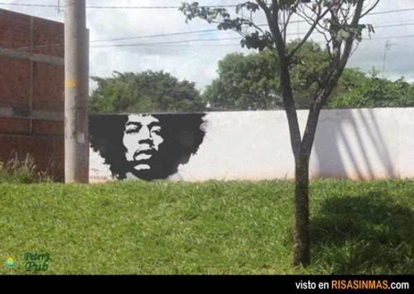 Arte callejero: Jimi Hendrix
