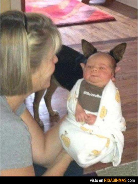 Que mono es mi bebéeeeee