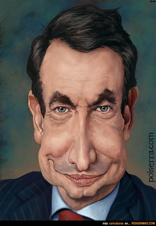 Caricatura de Zapatero
