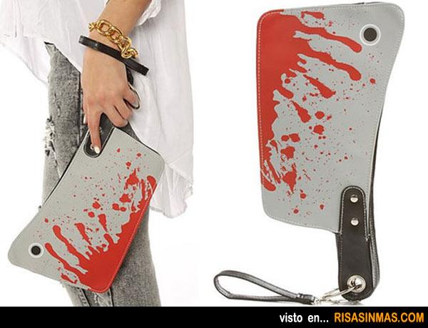 Cartera cuchillo de carnicero