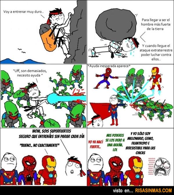 Cómo llegar a ser un Superhéroe