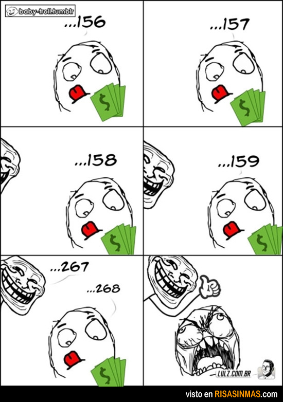 El troll del dinero
