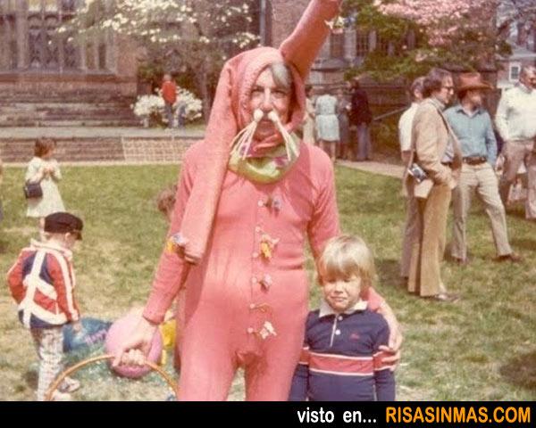 Disfraces desastrosos: Conejo de Pascua