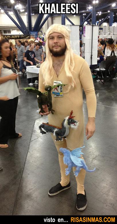 Disfraces horrorosos: Khaleesi (Juego de Tronos)
